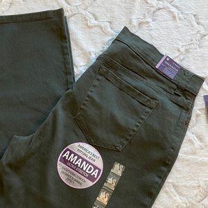 NWT Gloria Vanderbilt | Green Amanda Jeans
